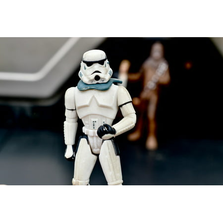 LAMINATED POSTER Movie Storm Trooper Star Wars Action Figure Toy Poster Print 24 x 36 for $<!---->