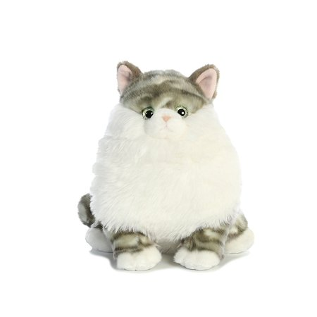 Dumpling Tabby(Fat Cats) 9 inch - Stuffed Animal by Aurora Plush (02476)](Cat Stuffed Animal)