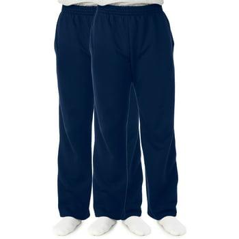 2-Pack Fruit of the Loom Men's Fleece Sweatpants (L/XL/3XL)