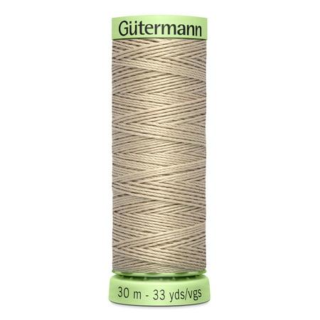 Gutermann Top Stitch Heavy-Duty Sand Thread, 33 (33 Mexican Sand Tile)