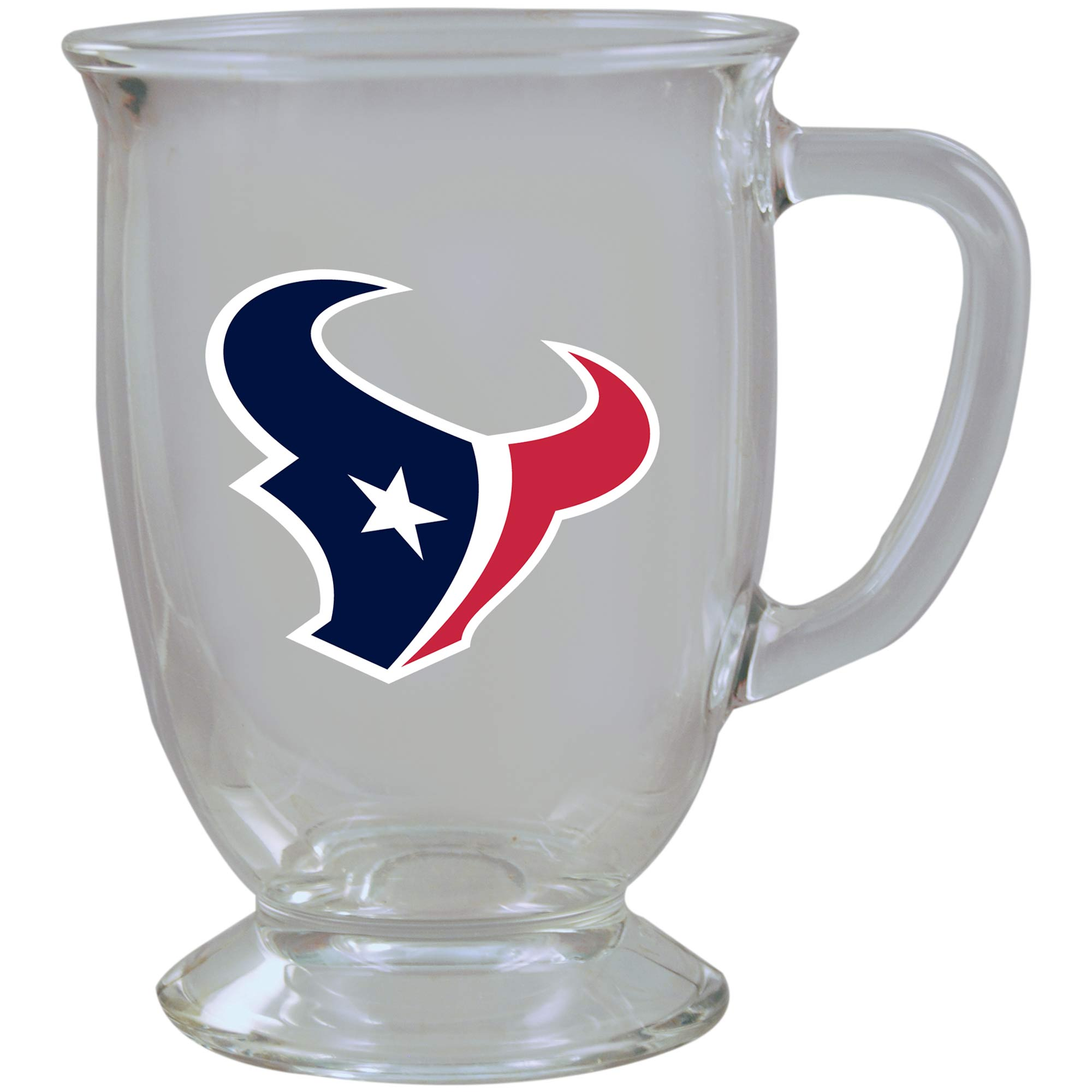 Houston Texans 16oz. Kona Glass Mug - No Size