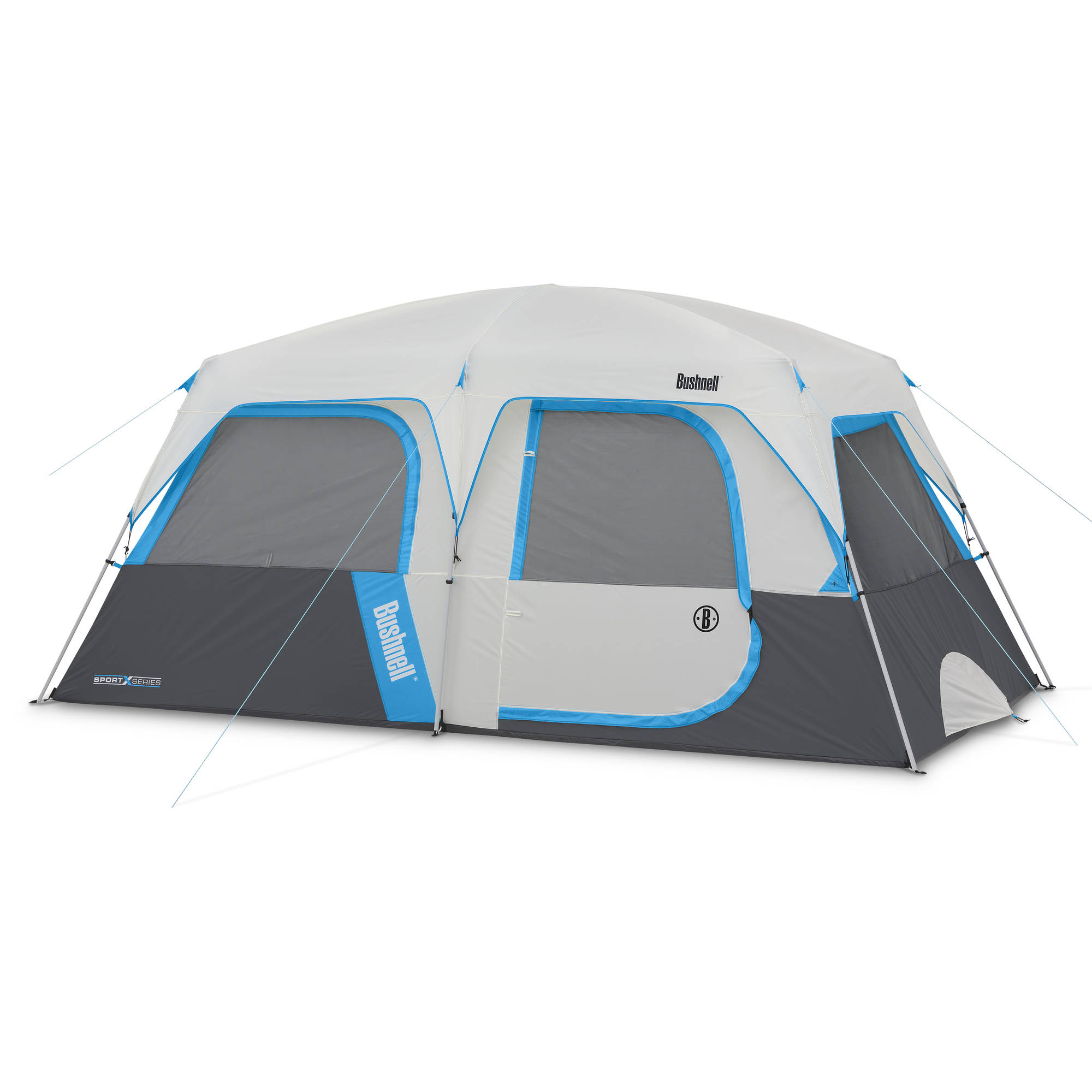 Bushnell Sport Series 14' x 8' Cabin Tent, Sleeps 8 by Campvalley Global Limited