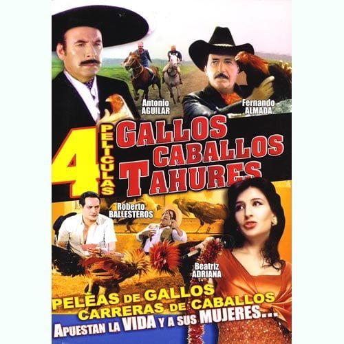 Gallos Caballos Y Tahur (Spanish)