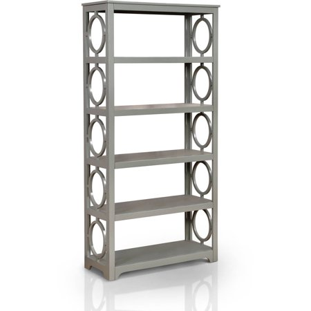 Furniture Of America Madison Retro Bookshelf Multiple Colors
