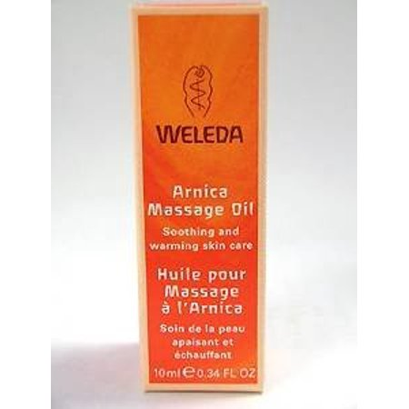 Weleda Body Care Arnica Massage Oil Travel 0.34 oz