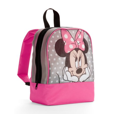 de7679d4f1c Disney Minnie Mouse - Minnie Mouse Mesh Mini Backpack - Walmart.com