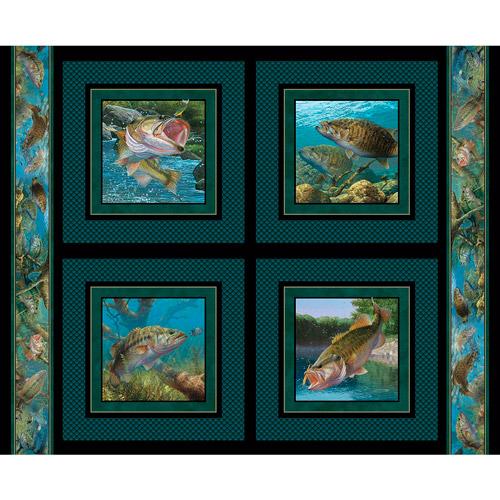 Wild Wings Stillwater Pillow Panel Fabri