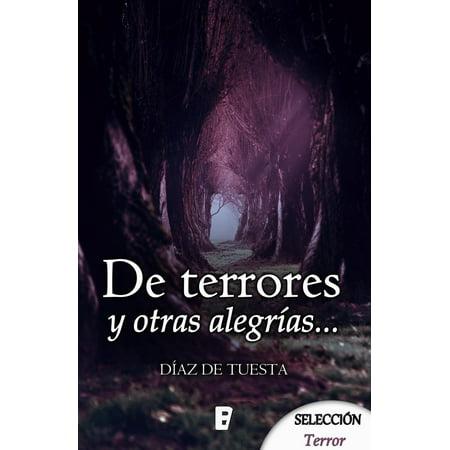 De terrores y otras alegrías - eBook - Ideas De Terror Para Halloween