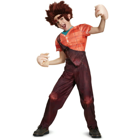 Child's Boys Deluxe Wreck It Ralph Ralph Costume