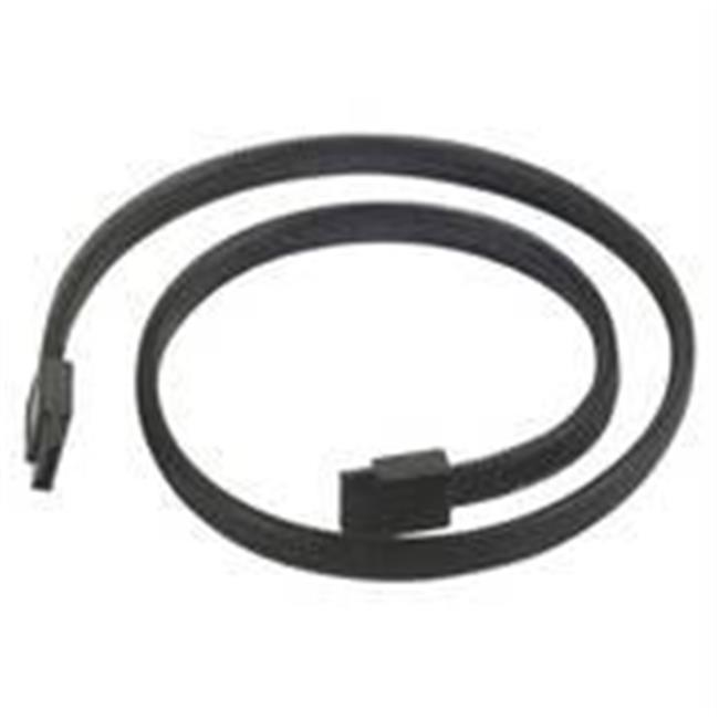 Silverstone CP07 500mm SATA to SATA Cable - Black
