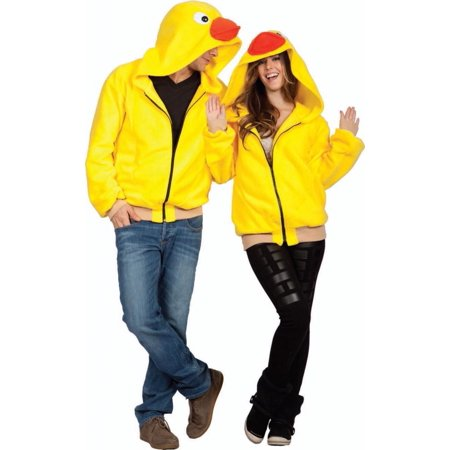 Tub Time Ducky Hoodie Adult Costume