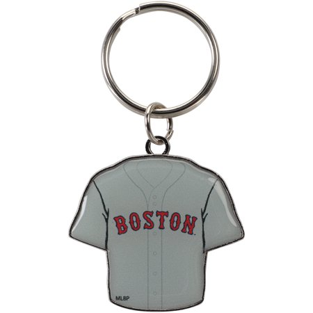 Boston Red Sox Reversible Home/Away Jersey Keychain - No Size