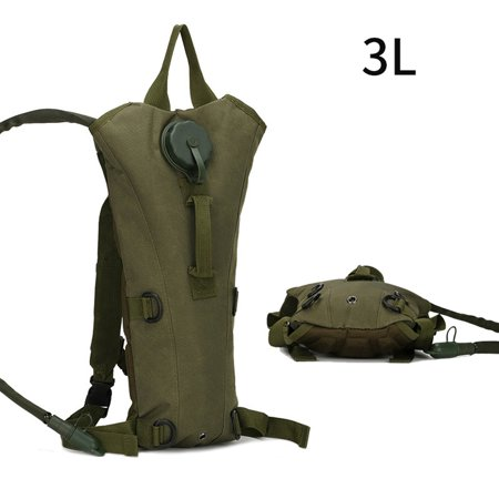 3L 3 Liter 100 Ounce Hydration Pack Bladder Water Bag Pouch Hiking Climbing Hunting Running Survival Outdoor