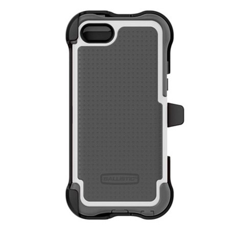 Ballistic Apple iPhone 5C Maxx Series Case with Holster Belt Clip - Gray/White ()