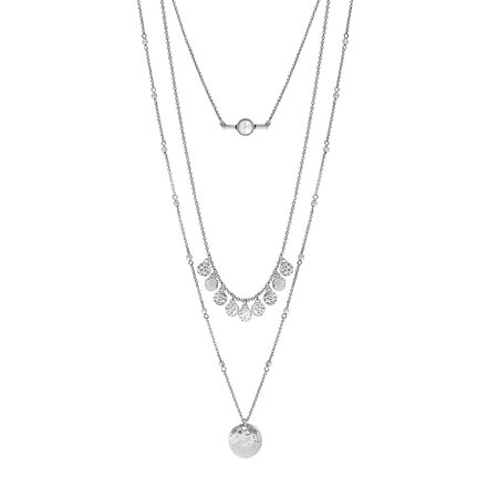 Three-Chain Necklace (Home Made Jewlery)