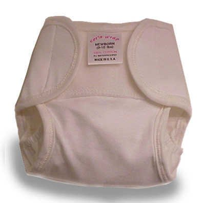 Basic Connection Cotton Wraps Diaper Cover - Large