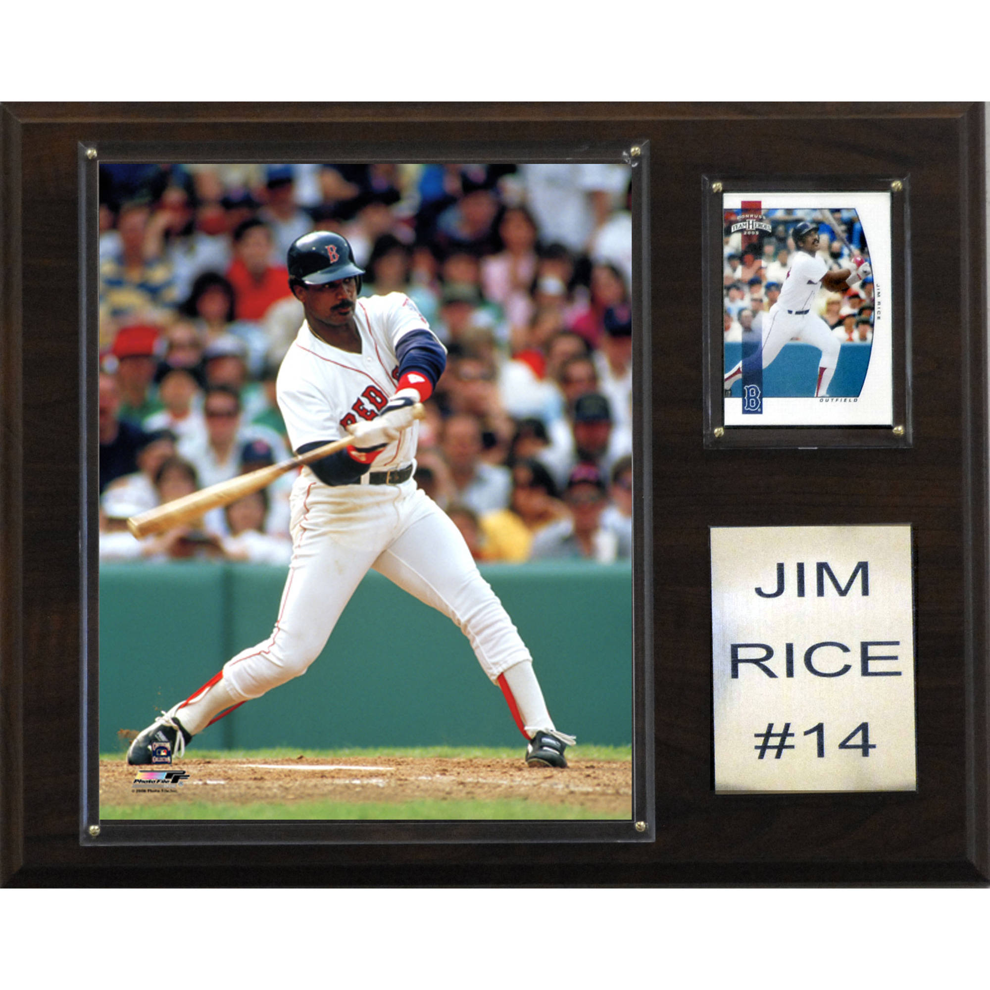 C&I Collectables MLB 12x15 Jim Rice Boston Red Sox Player Plaque