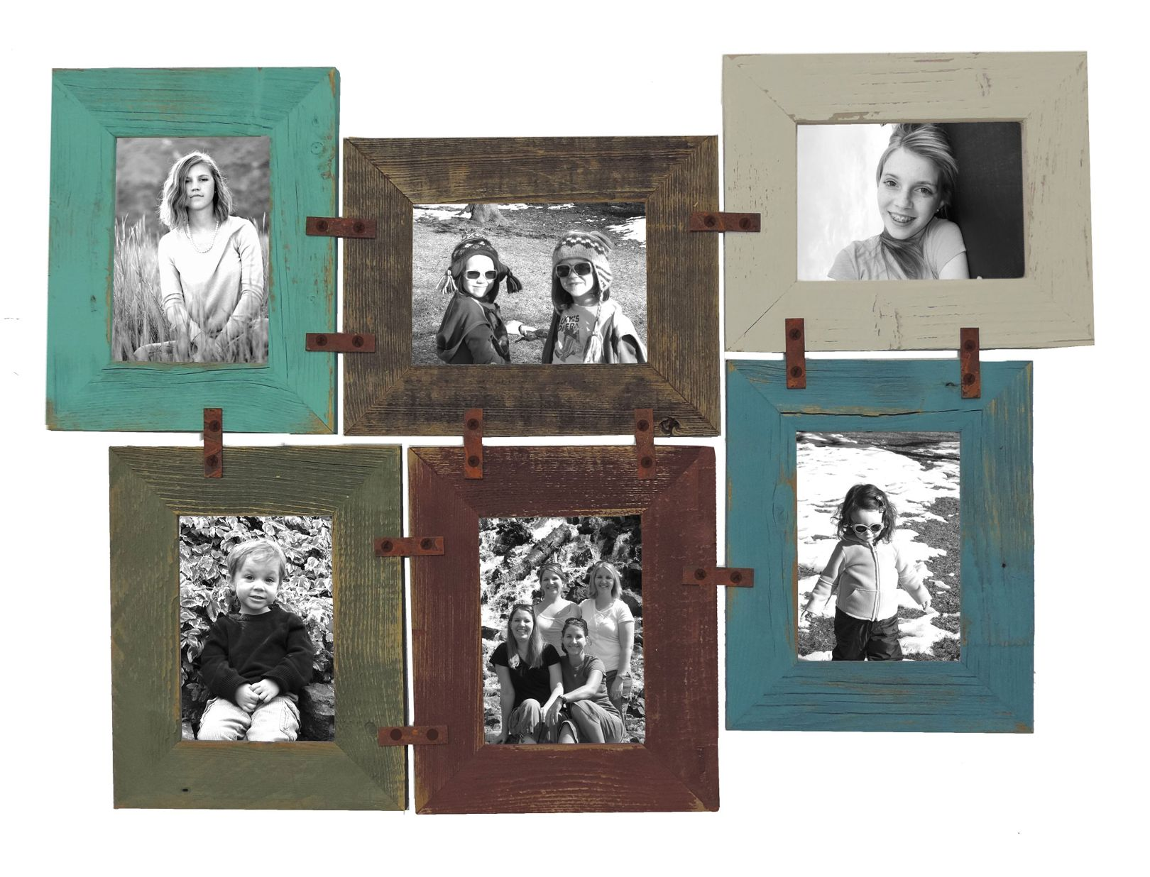 DIY 4 X 6 Picture Frame Collage Kit Multi-Picture Frame - Walmart.com