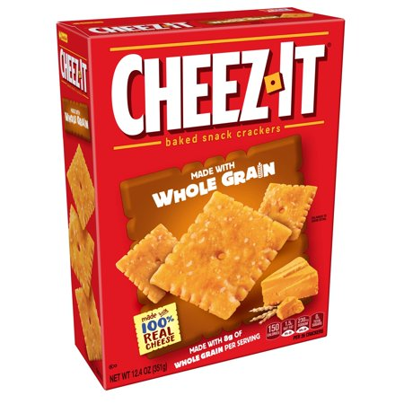 Cheez-it Baked Whole Grain Cheese Snack Crackers, 12.4 Oz. - No Bake Halloween Snacks