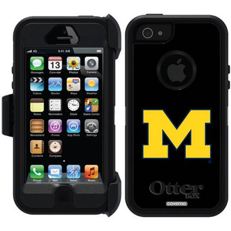new styles 2718b b7bd0 Michigan M Design on OtterBox Defender Series Case for Apple iPhone 5/5s