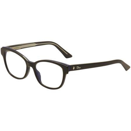 Christian Dior Eyeglasses Montaigne No.03 G9Z Havana/Blue Optical Frame 52mm