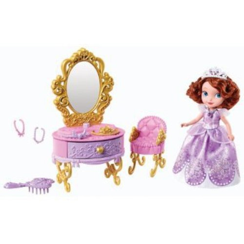 Sofia the First Princess Sofia Doll and Royal Vanity Play Set