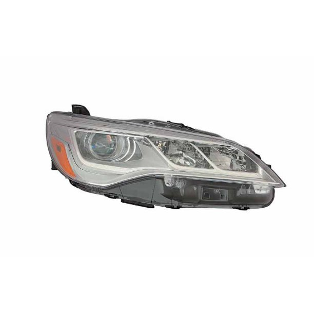 Replacement Depo Passenger Side Headlight For 15 17 Toyota Camry 8111006870 Walmart Com Walmart Com