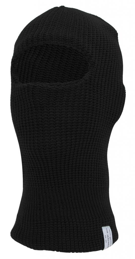 TopHeadwear Ski Mask One Eye Hole, Black