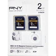 PNY 2GB Premium Secure Digital Memory Card