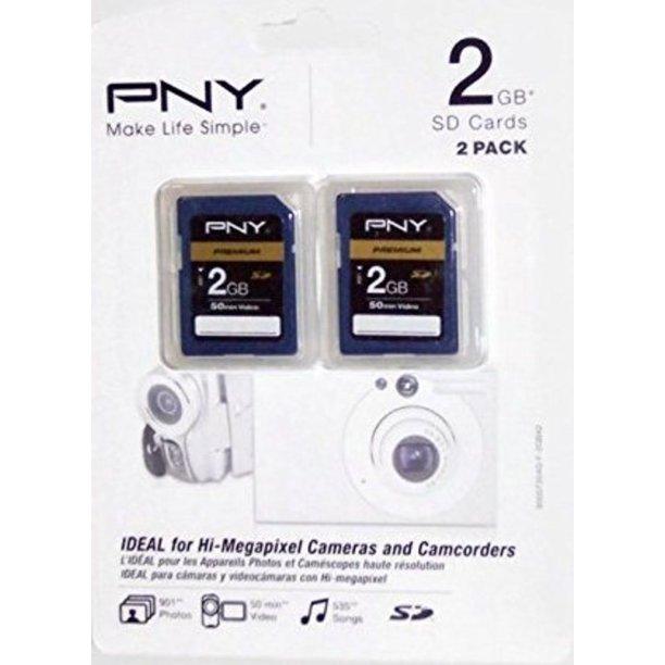 Pny 2gb Premium Secure Digital Memory Card Walmart Com Walmart Com