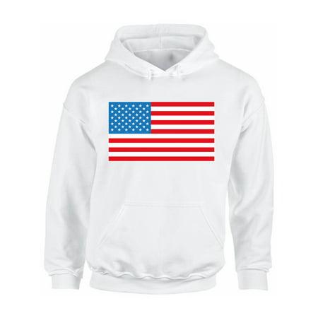 Awkward Styles Unisex American Flag Graphic Hoodie Tops USA Flag Patriotic