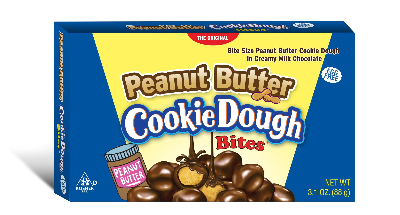 Cookie Dough Bites Peanut Butter 3.1 Oz by Taste of Nature, Inc.