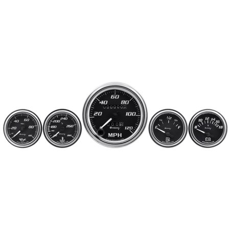 AutoMeter E7500 Equus 7000 Series Gauge Kit ()