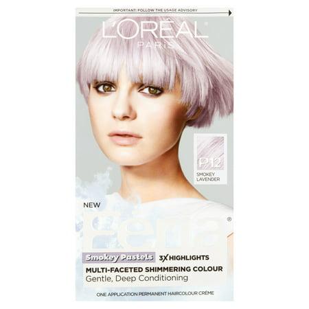L'Oreal Paris F?ria P12 Smokey Lavender One Application Permanent Haircolour