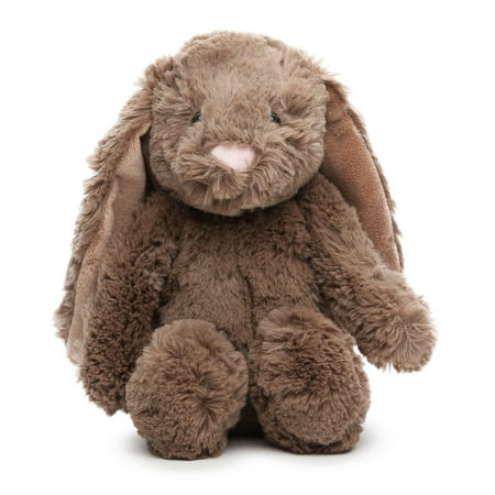 Gitzy Brown Floppy Eared Easter Bunny Rabbit Plush (Track The Easter Bunny)