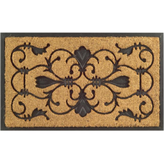 Imports Decor 710RBCM Rubber Back Coir Doormat  Brigoder