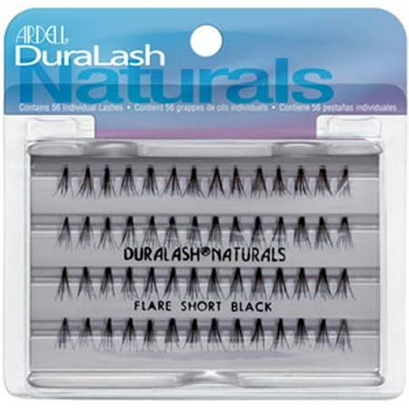 61564c0a5bc Ardell DuraLash Naturals Knot Free Flare Lashes Short Brown - Walmart.com