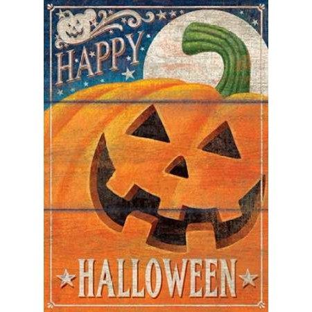 Happy Halloween Stretched Canvas - PS Art Studios (18 x 24)](Happy Halloween Makeup Studio)