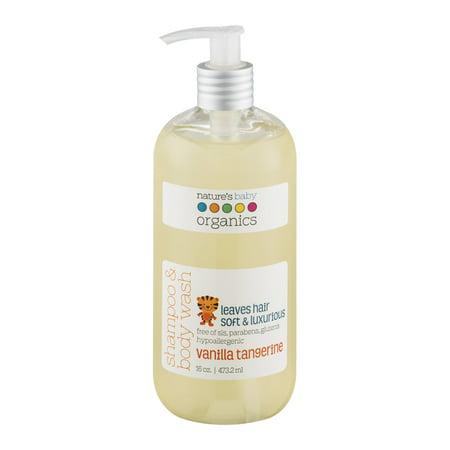 Nature's Baby Organics Shampoo and Body Wash, Vanilla