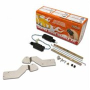 AutoLoc Power Accessories AUTSVBBB Bolt On Shave Door Kit for Most 1994 - 2006 GM Cars and Trucks No Remotes