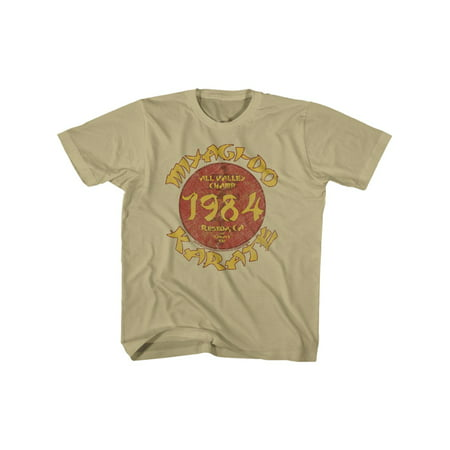 Karate Kid Karate 84 Khaki Youth T-Shirt Tee - image 1 de 1