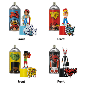 "Subway Surfers - Sub Surf Spray Crew - Each Sold Separately Vinyl Figure (4"")"