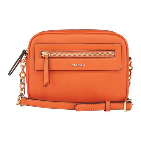 Nine West Mini - Women's Nine West Starr Mini Nicolina Camera Bag Orange OSFA