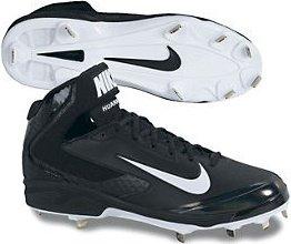 Nike Men's Huarache 599235 Pro Mid Metal Cleat 599235 Huarache 001 9a30a4