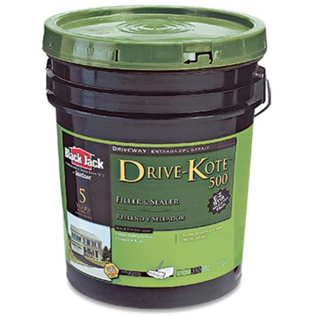 Black Jack Drive Kote 500 Driveway Filler & Sealer Latex Blacktop 4.75 Gl 5 Yr