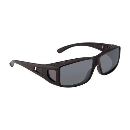 Gravity Over Fit Sunglasses - Black/polarized Gray - Fits 147mm Wide X 40mm (Can You Wear Sunglasses For Solar Eclipse)