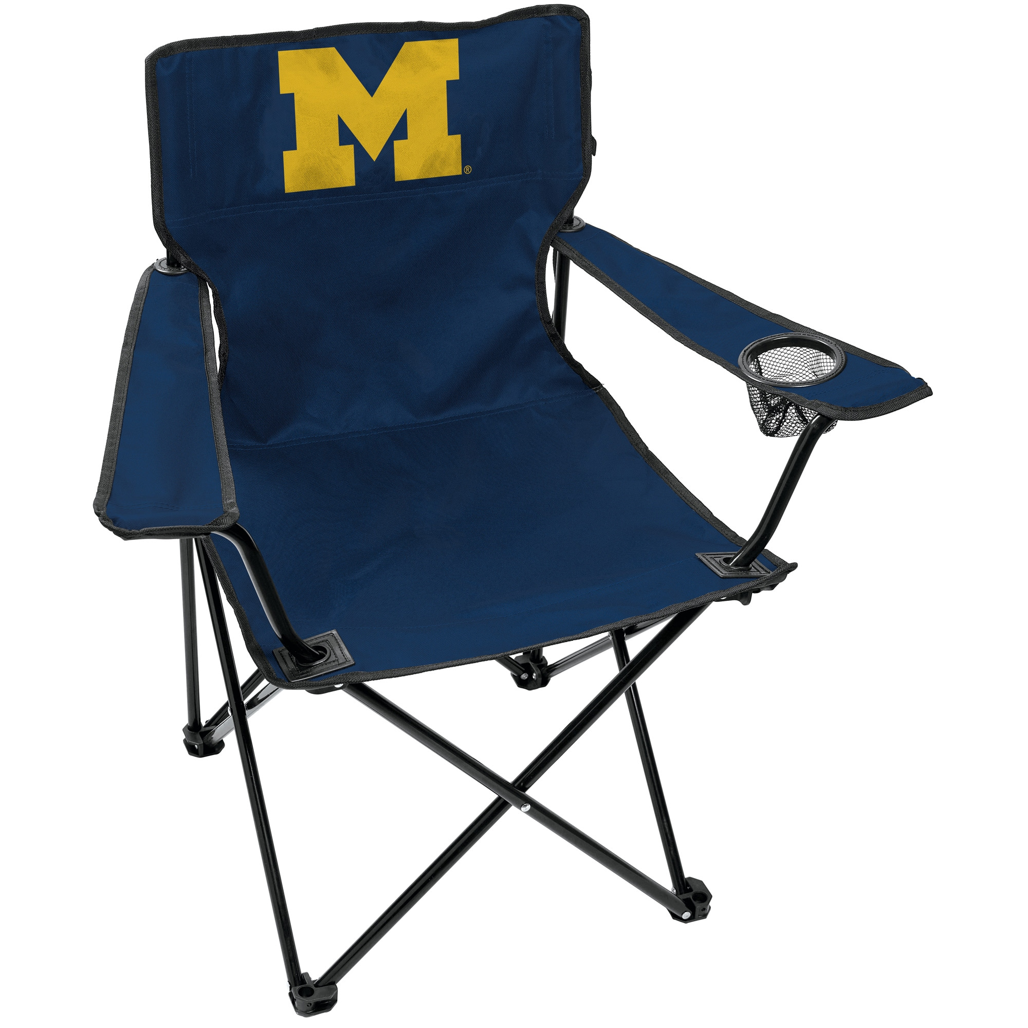 Blue Logo NCAA Kansas City Royals Adult Elite Chair