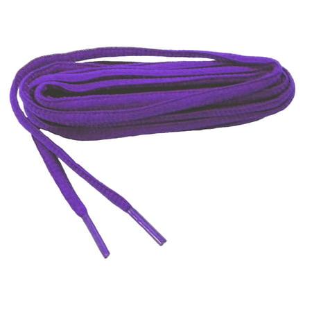 Purple Shoe Laces (60 Inch 152 cm Purple proATHLETIC™ Oval sneaker shoelaces - (2 Pair)