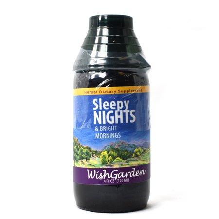 Ayurvedic Herbal Remedies - WishGarden Herbal Remedies WishGarden Herbs — Sleepy Nights Herbal Formula — Gluten Free — 4 oz Jigger Top