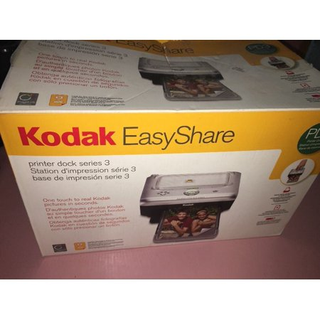 KODAK EASYSHARE PD3 SERIES 3 PHOTO PRINTER DOCK WITH POWER/USB CORD &